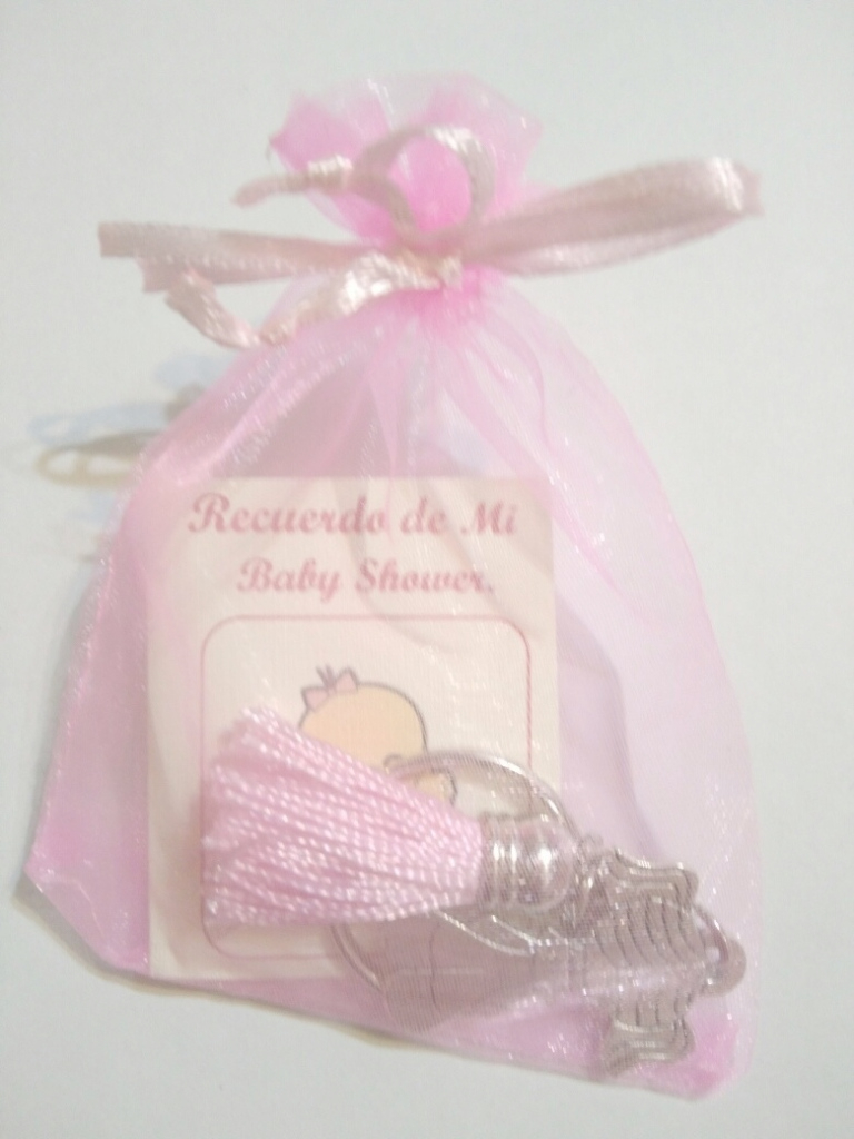 Lovely Recuerdos Para Baby Shower Niño - Niña Borla - $ 890 En Mercado Libre in Baby Shower Recuerdos