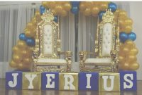 Lovely Royal Blue And Gold Baby Shower (Prince Elijah) | Prince Baby Shower within Royal Blue And Gold Baby Shower Ideas