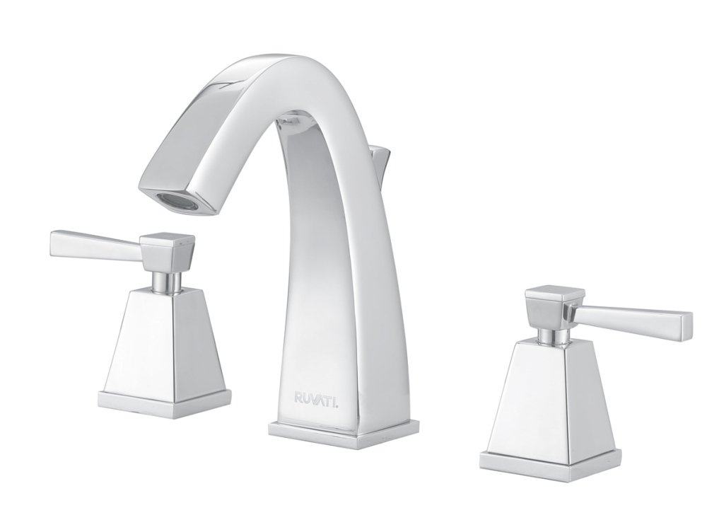 Lovely Ruvati Rvf5120Bn Giza 8-15″ Widespread Two Handle Contemporary within Contemporary Bathroom Faucets