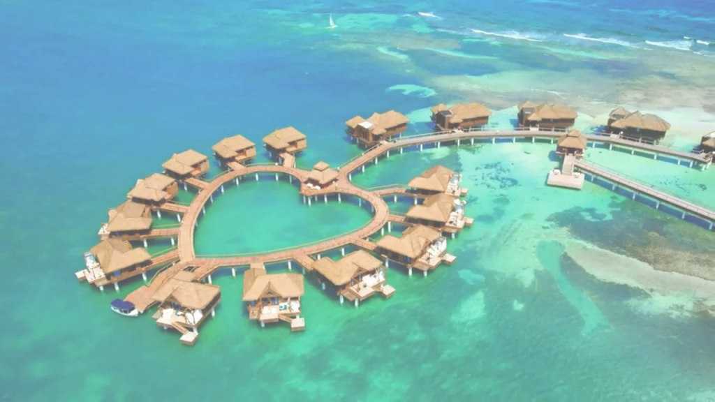 Lovely Sandals Resorts - The New Over The Water Villa Suites - Youtube throughout Sandals Over The Water Bungalows