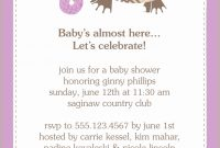 Lovely Second Baby Shower Ideas Fabulous Baby Shower Invitation Wording intended for 2Nd Baby Shower