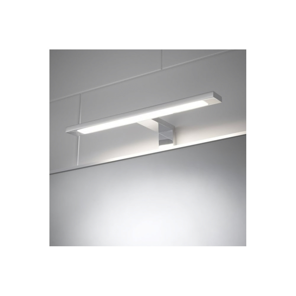 Lovely Sensio Neptune Cob Led Over Mirror T-Bar Light From Love Lights with regard to Over Mirror Bathroom Light