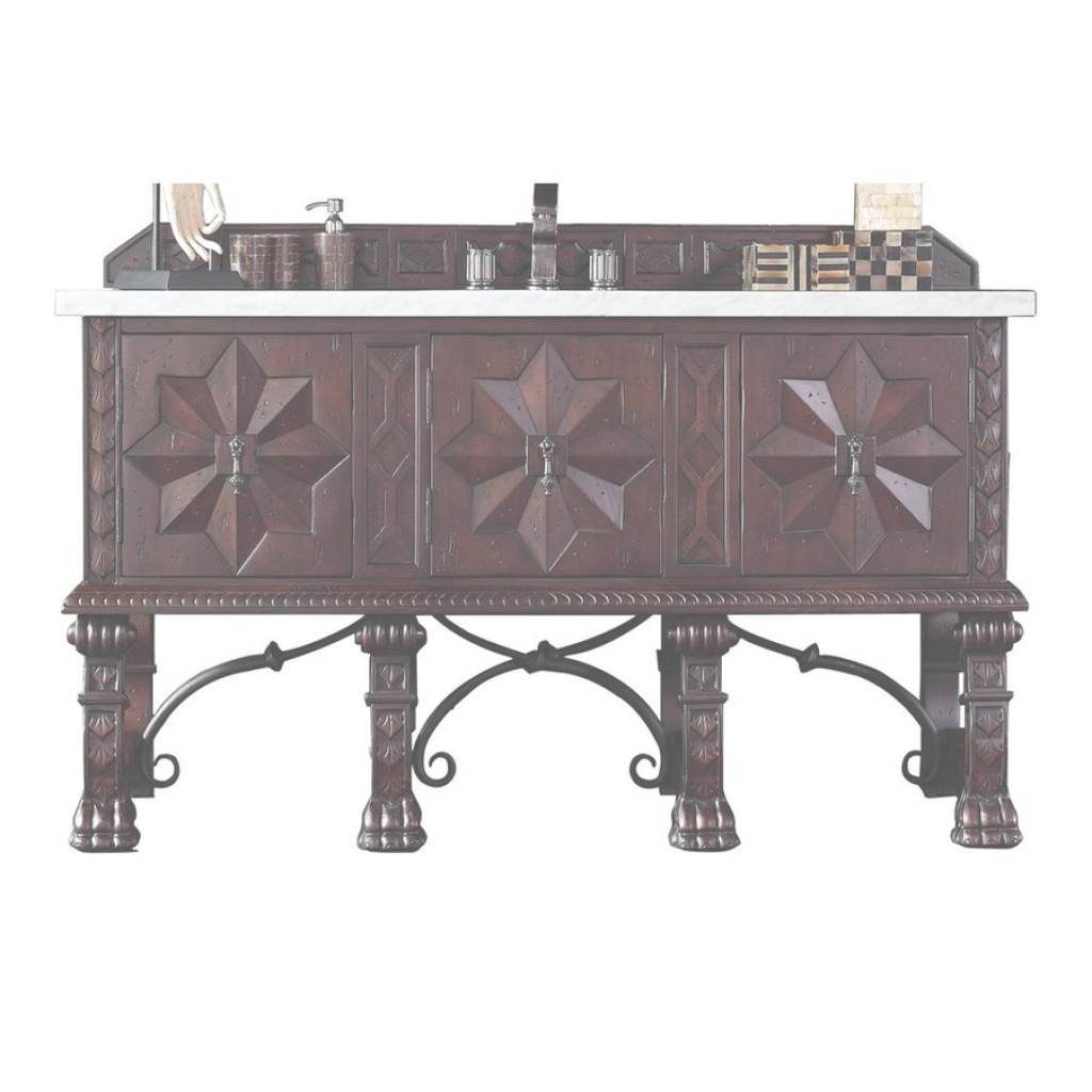 Lovely Shop James Martin Furniture Balmoral Antique Walnut Vanity With Top with regard to James Martin Bathroom Vanities