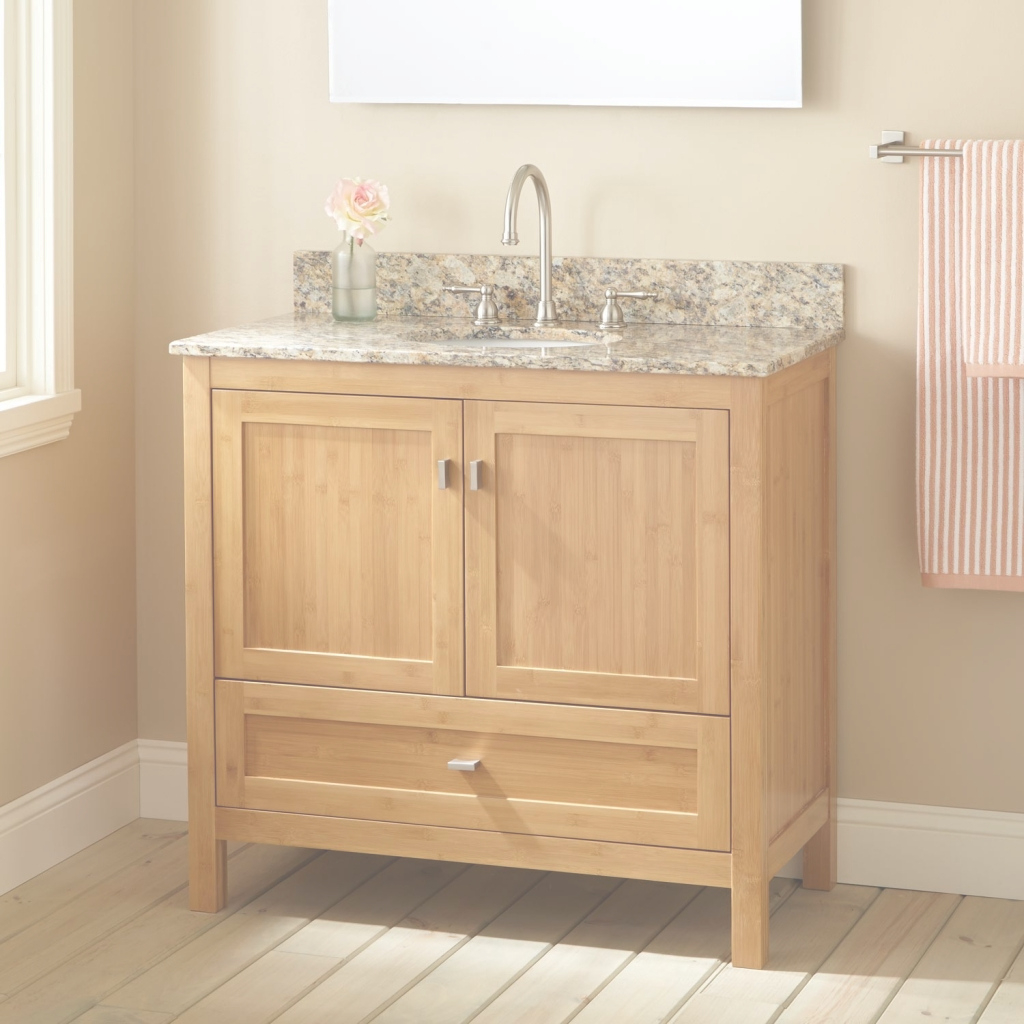 Lovely Shop Narrow Depth Bathroom Vanities And Ideas With Vanity Images for Bamboo Bathroom Vanity