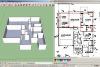 Lovely Simple Floor Plan Sketchup Thefloorsco, Google Sketchup Designs with Google Sketchup House Plans Download Image