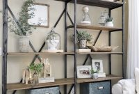 Lovely Simplified Shelves | Pinterest | Clutter, Living Rooms And Room in Living Room Shelving