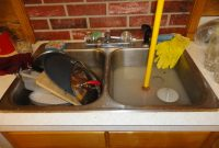 Lovely Sinks. Clogged Kitchen Sink Drain With Garbage Disposal: How To inside New How To Unclog A Double Kitchen Sink