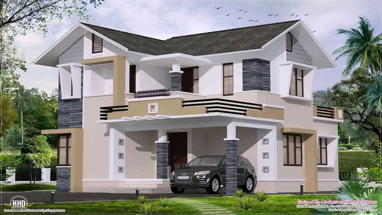 Lovely Small Bungalow House Design In India - Youtube within Small Bungalow