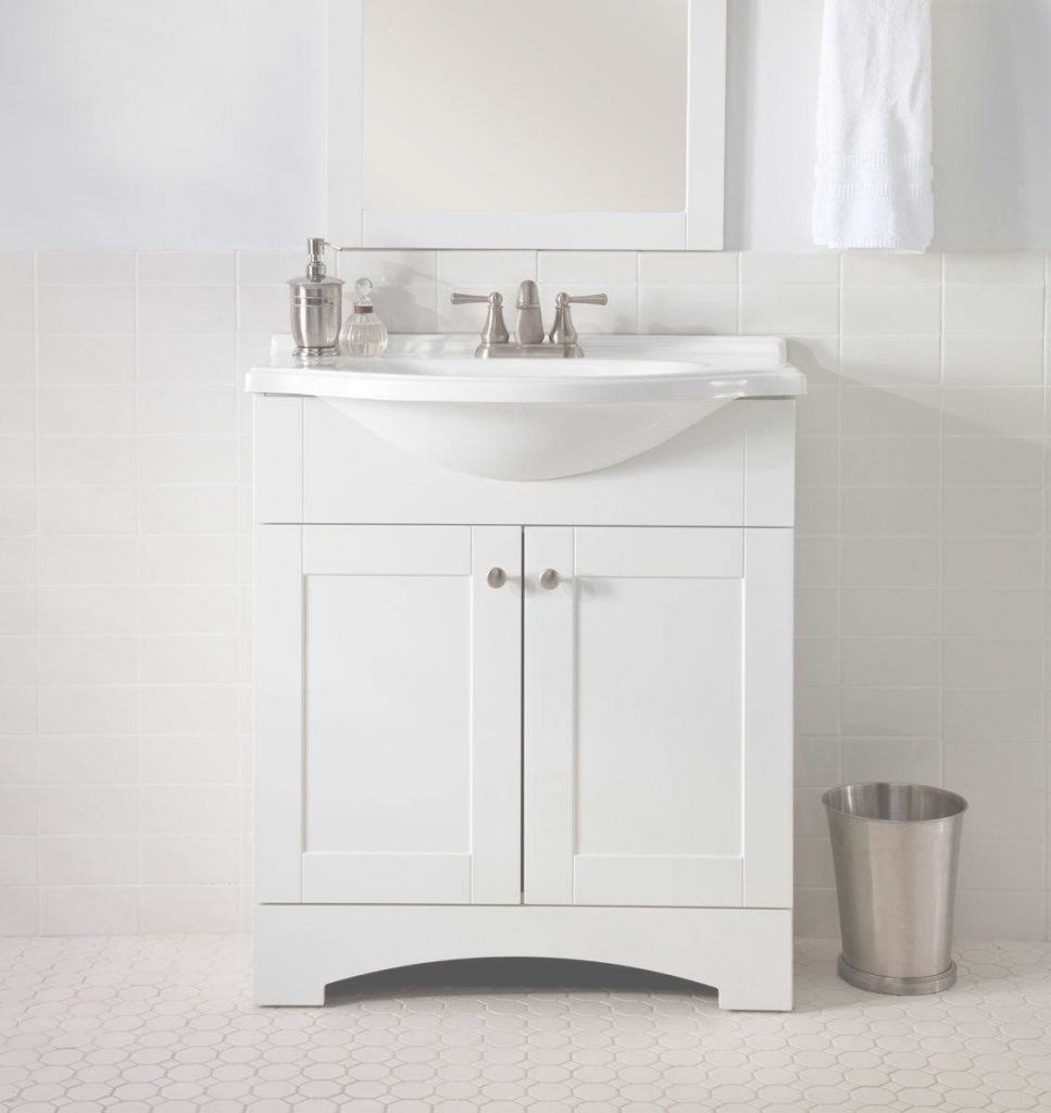 Lovely Small White Bathroom Vanity & Complete Ideas Example in Small White Bathroom Vanity