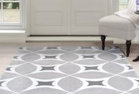 Lovely Somerset Home Geometric Area Rug, Grey And White – Walmart within Grey Living Room Rug