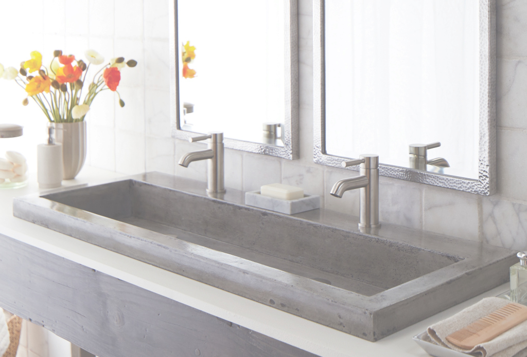 Lovely Sweet Trough Sinks For Bathrooms - Home Design Ideas with Unique Trough Sinks For Bathrooms