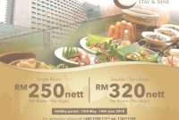 Lovely Swiss-Garden Hotel & Residences Kl Ramadan Stay & Dine Promotion with regard to Swiss Garden Hotel Jalan Pudu