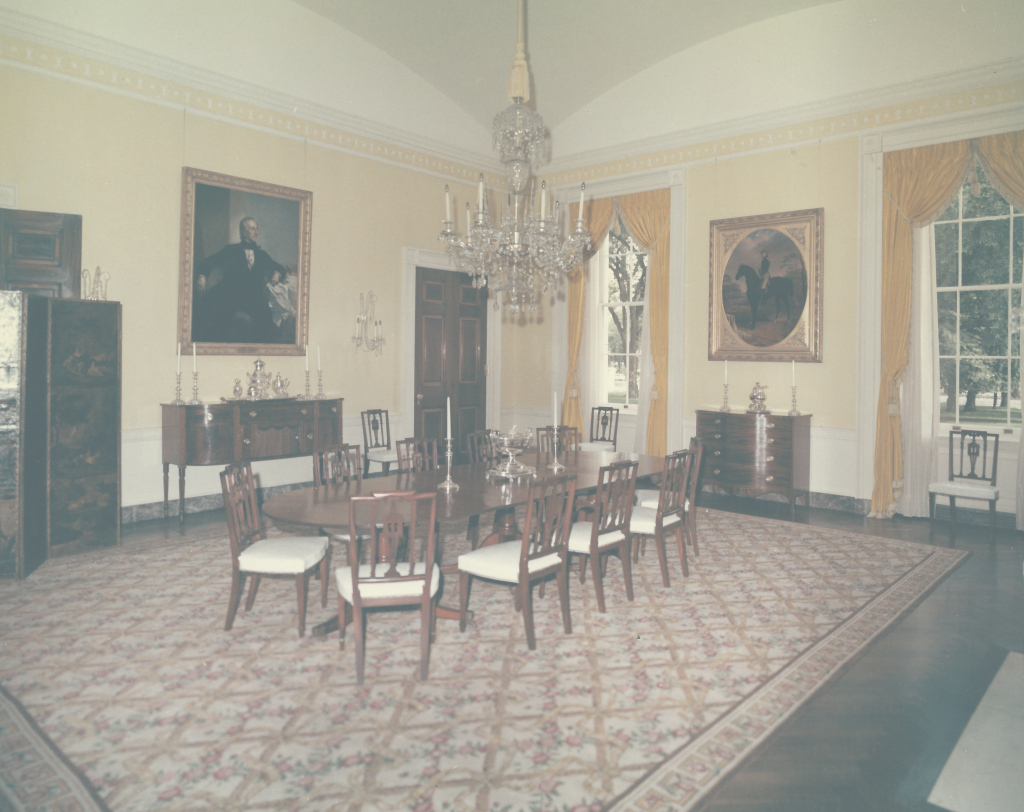 Lovely The Old Family Dining Room, Made New Again | Whitehouse.gov pertaining to Elegant White House State Dining Room