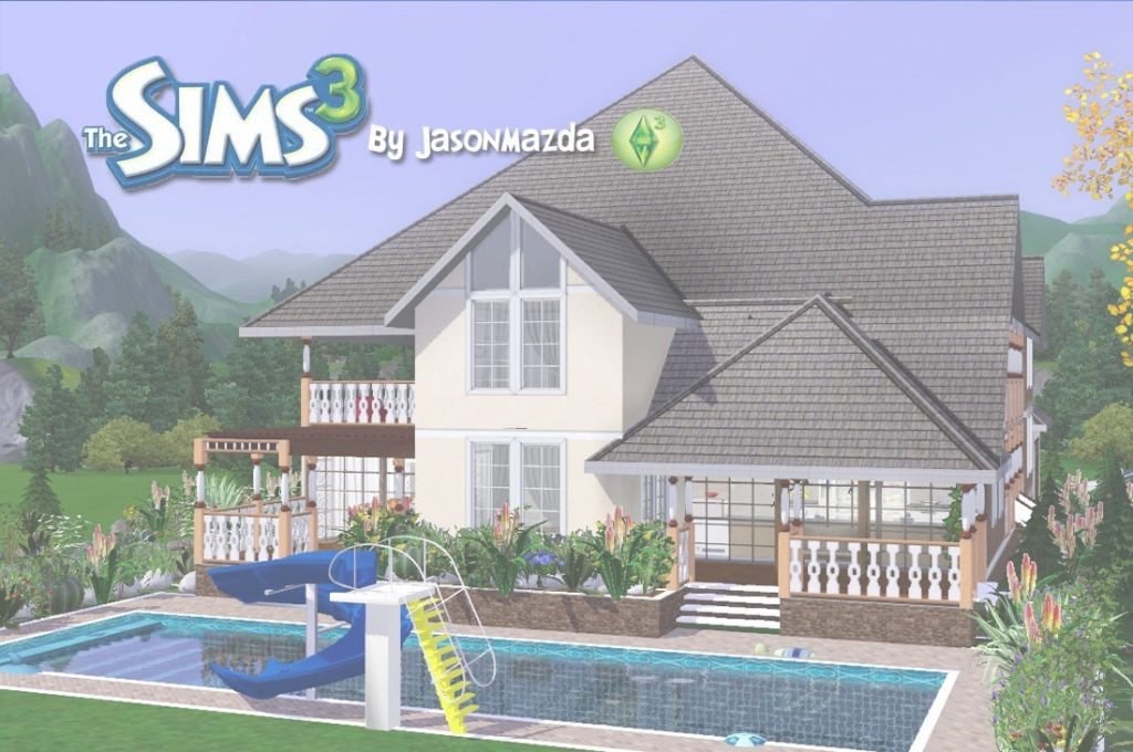Lovely The Sims 3 House Designs - Prestigious Elegance - Youtube within Sims 3 House Layouts