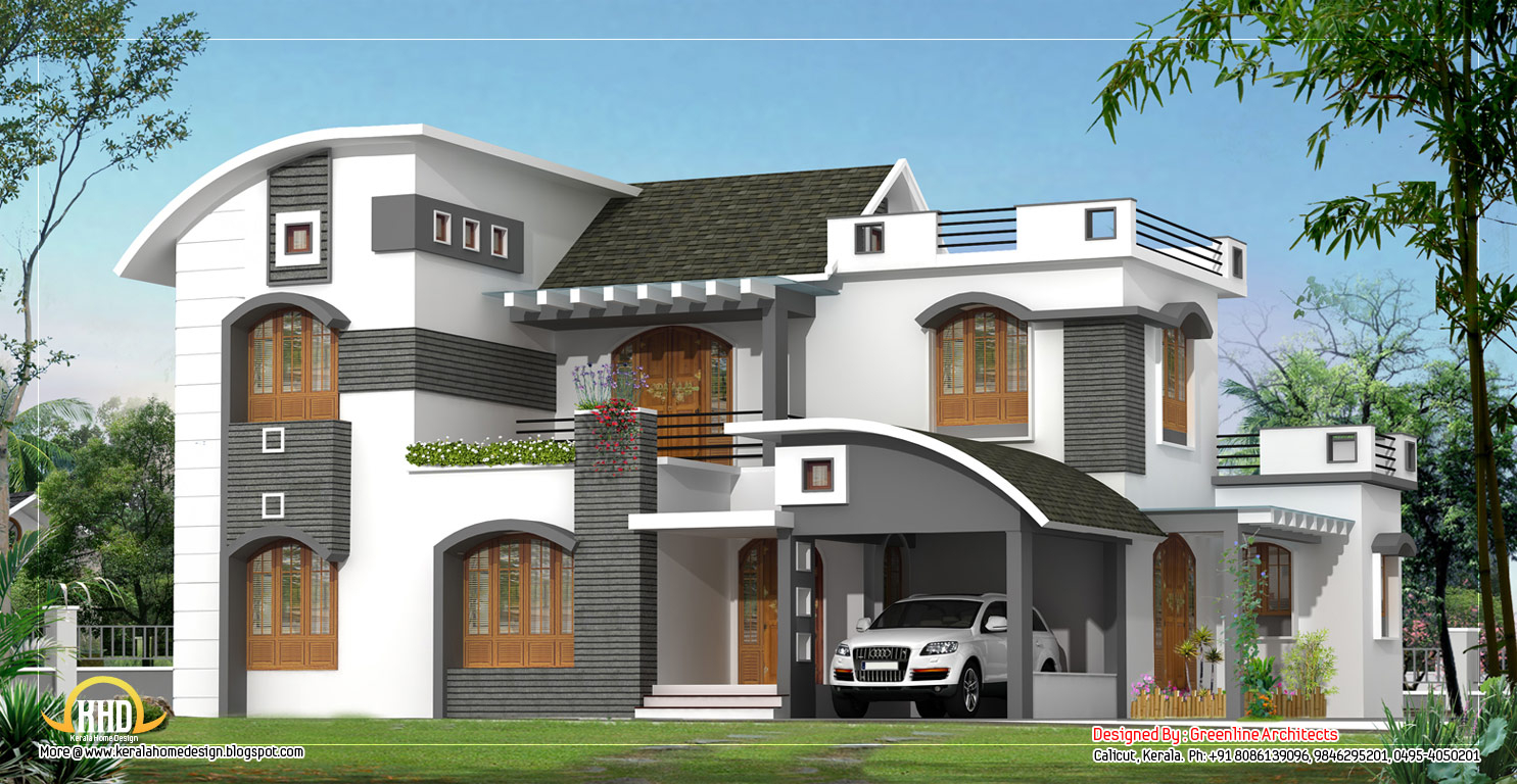Lovely Unique Modern Home Plan #7 Design Home Modern House Plans, Unusual in Awesome Home Design Plans With Photos