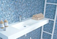 Lovely Unusual Mosaic Tile Bathroom Concept Mosaictile Tiles Blue Grey pertaining to Blue Glass Tile Bathroom