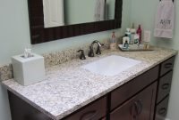 Lovely Update Your Bathrooms With A Granite Vanity Top | Future Expat throughout Bathroom Vanity With Top
