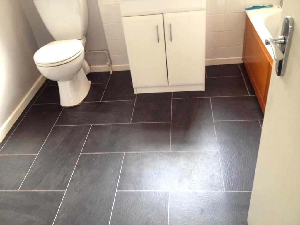 Lovely Vinyl Flooring Bathroom With Floor Tiles Sheet Designs 5 - Zurimusic with Best of Flooring For Bathrooms