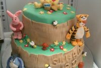 Lovely Winnie The Pooh Baby Shower Cake | Bluerett Cakes | Flickr pertaining to Unique Winnie The Pooh Baby Shower Cakes