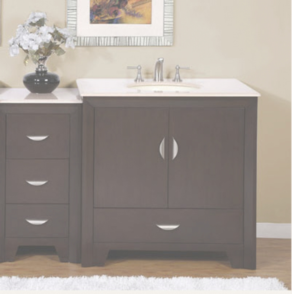 Lovely Wooden Single Sink Bathroom Vanity : Going To Find Single Sink inside Inspirational Single Sink Bathroom Vanity