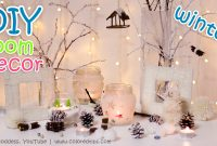 Modern 10 Diy Winter Room Decor Ideas – Youtube for Unique Winter Decorations Diy