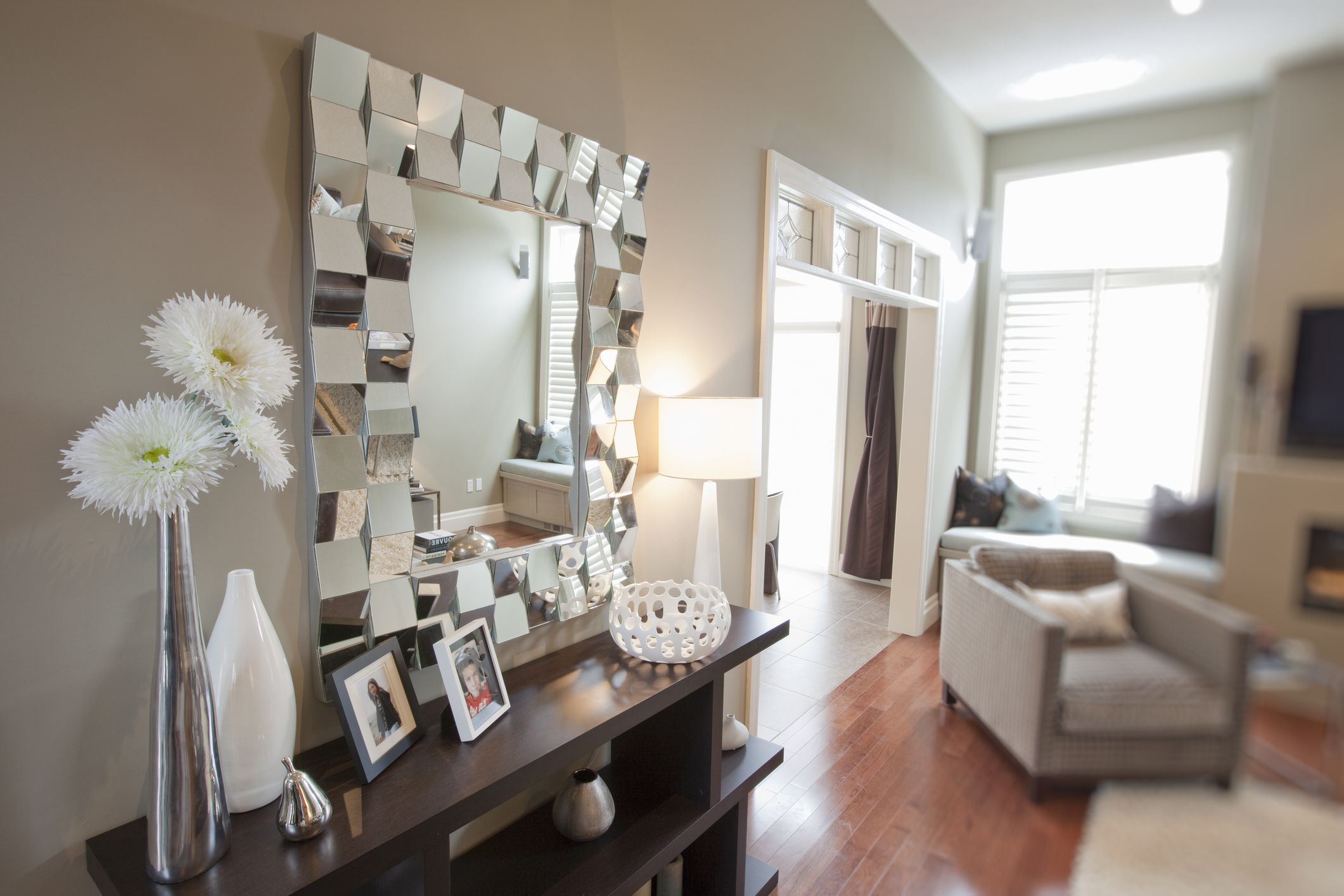 Modern 10 Fabulous Statement Wall Mirrors throughout Fresh Living Room Mirrors