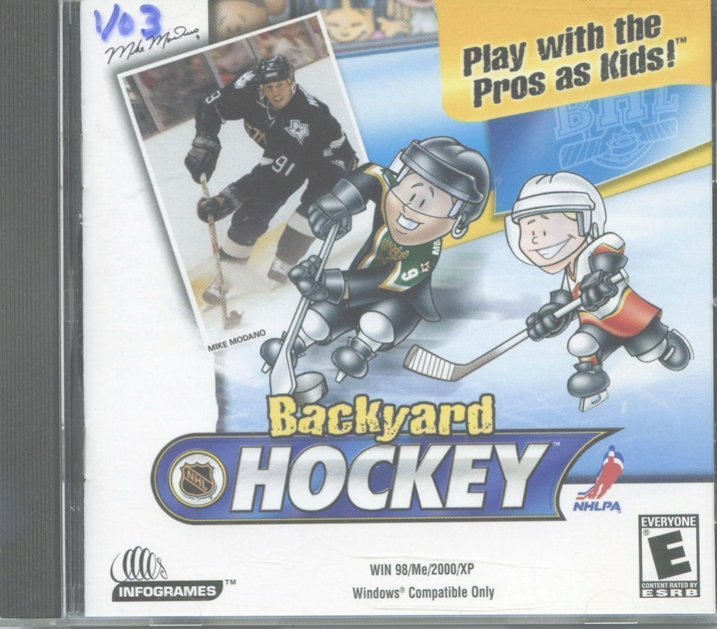 Modern 109.11125: Backyard Hockey: Play With The Pros As Kids! | Video Game in Luxury Backyard Hockey
