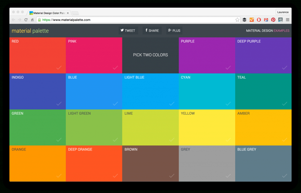 Modern 21 Color Palette Tools For Web Designers And Developers in Color Coordination Tool