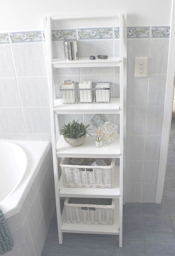 Modern 25 Inventive Bathroom Storage Ideas Made Easy intended for High Quality Bathroom Storage Cabinet Ideas