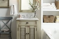 "Modern 26"" Cottage Style Abbeville Bathroom Sink Vanity – Cf-28323 (Best throughout Review Bathroom Sink And Vanity"
