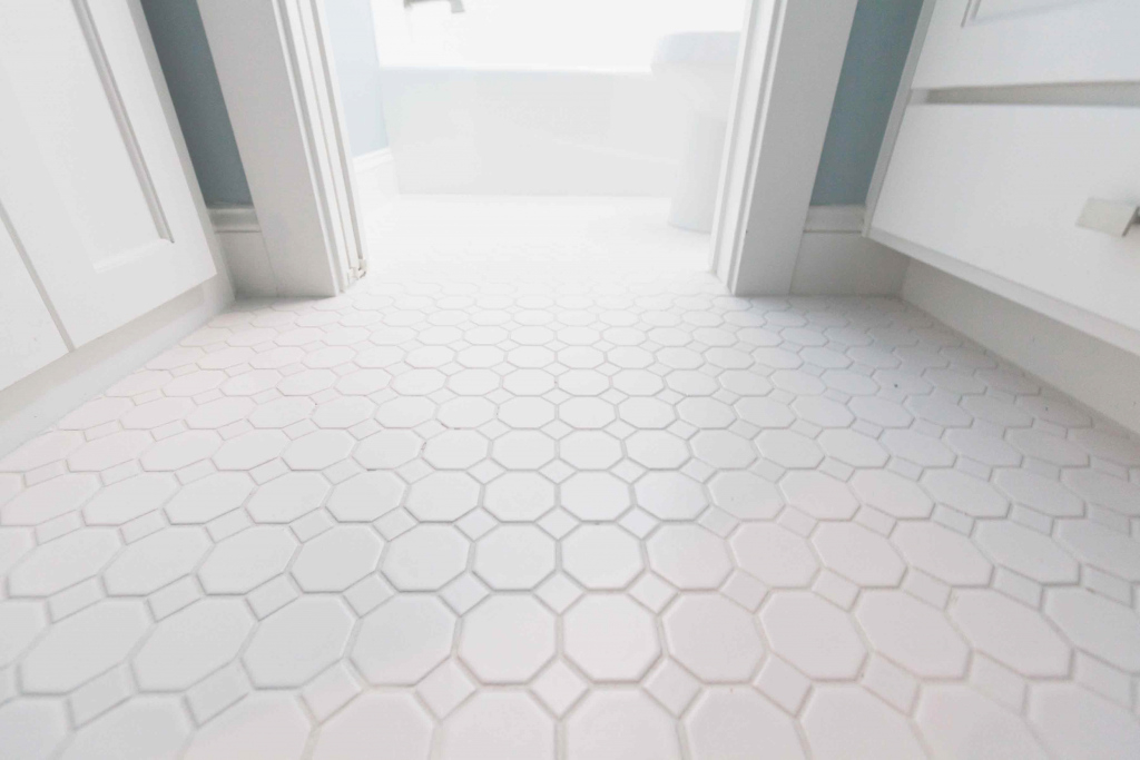 Modern 30 Pictures Of Octagon Bathroom Tile inside Cheap Bathroom Flooring