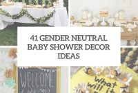 Modern 41 Gender Neutral Baby Shower Décor Ideas That Excite – Digsdigs within Good quality Modern Baby Shower Themes