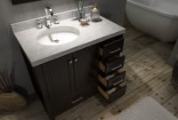 Modern 42 Inch Bathroom Vanity With Top 60 Offset Sink Purobrand Co 15 inside 42 Inch Bathroom Vanity Combo