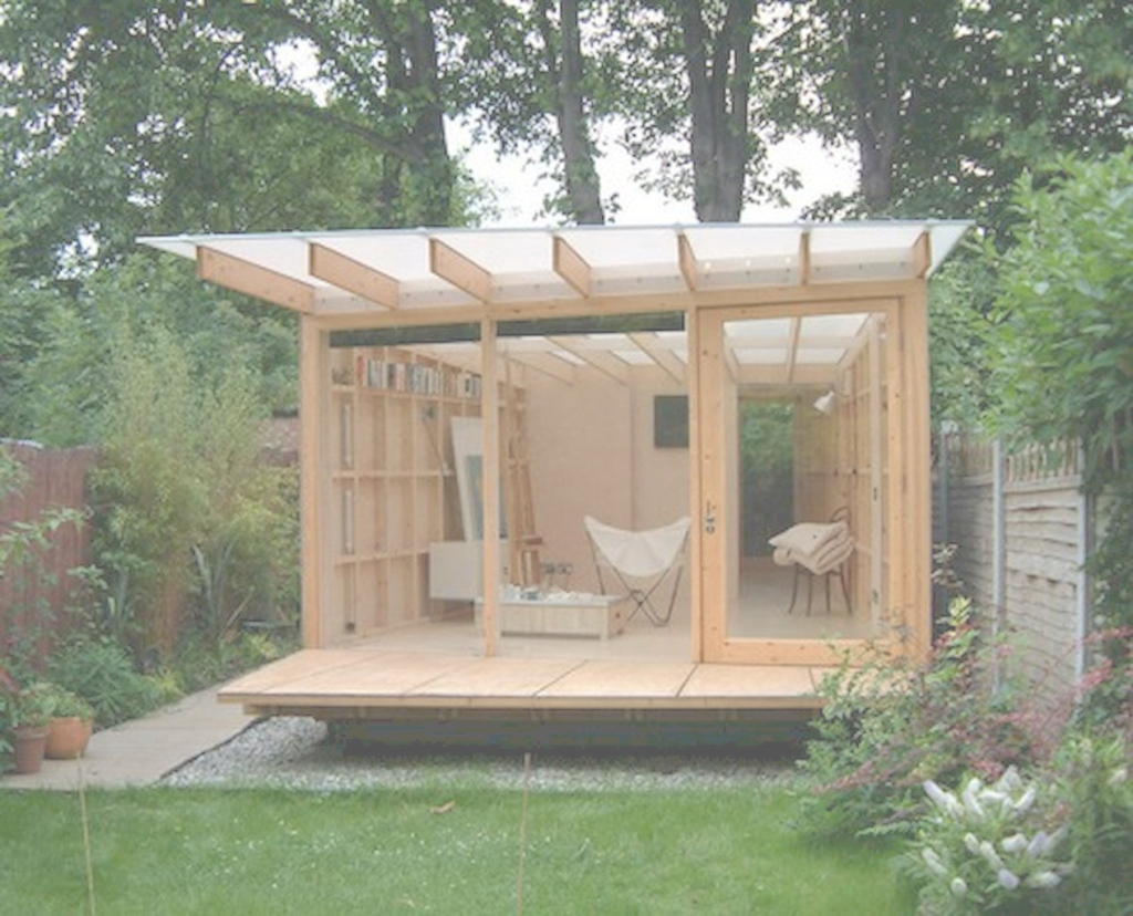 Modern 45 Smart And Creative Backyard Studio Shed Design Ideas - Decoremodel with Creative Backyard Ideas