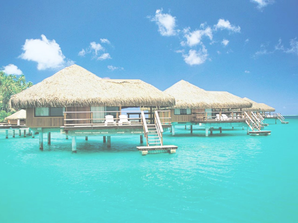 Modern 5 Insane Overwater Bungalows You Can Actually Afford | Travel Channel in Luxury Over The Water Bungalows In Caribbean