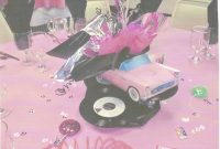 Modern 50's Theme Centerpieces For 50Th Wedding Anniversary | 50 S Themed in 50S Theme Party Decorations