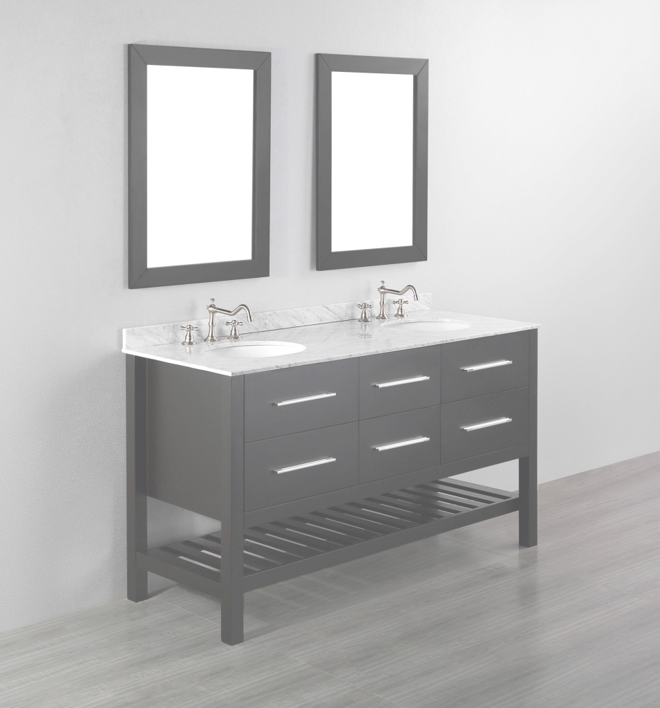 Modern 54 Bathroom Vanity Double Sink | Modern Bathroom Decoration with 54 Bathroom Vanity
