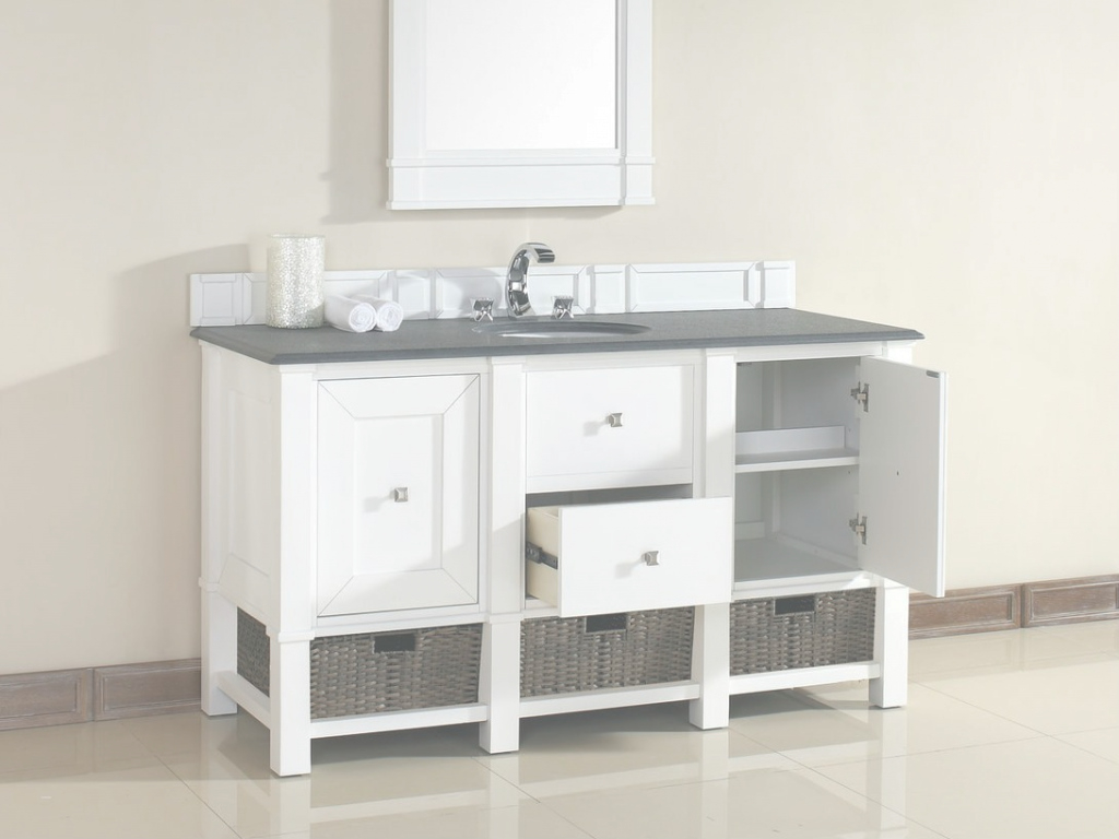 Modern 60 Bathroom Vanity Single Sink Awesome James Martin Madison throughout Bathroom Vanity 60 Single Sink