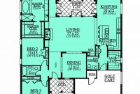 Modern 654190 – 1 Level 3 Bedroom 2.5 Bath House Plan : House Plans, Floor inside Inspirational 3 4 Bathroom Floor Plans