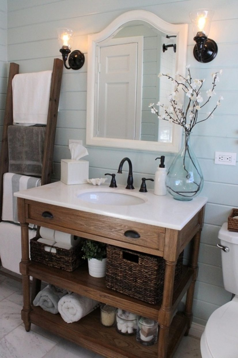 Modern 85 Beautiful Hi-Def Bathroom Vanity Farmhouse Style May The Right intended for Luxury Farmhouse Style Bathroom Vanity