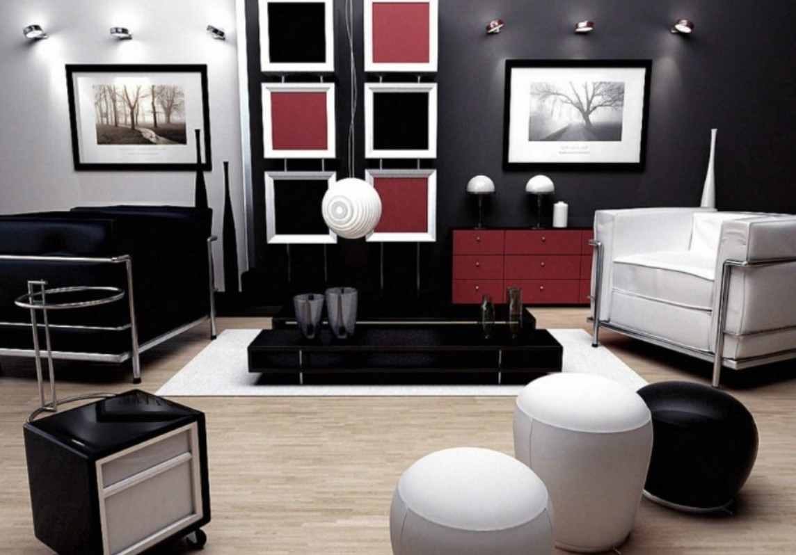 Modern Accessories ~ Beauteous Red And Black Living Room Decorating Ideas throughout Black And Red Living Room