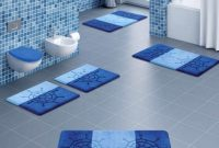 Modern Adorable-Blue-Bathroom-Rug-Set-Royal-Blue-Bathroom-Rug-Sets-Powder inside Blue Bathroom Rug Sets