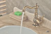 Modern Aliexpress : Buy Carve Patterns Deck Mounted Antique Brass intended for High Quality Brass Bathroom Sink