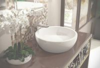 Modern Aquatica Texture Bowl-Wht Round Ceramic Bathroom Vessel Sink for New Bathroom Vessel Sinks