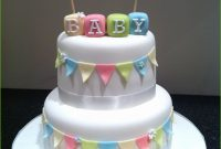 Modern Baby Shower Cake Recipes Wonderfully intended for New Baby Shower Cake Recipes