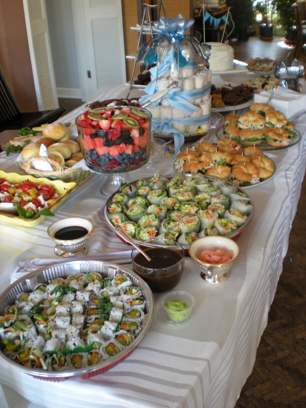 Modern Baby Shower Food Ideas: Baby Shower Food What To Serve with regard to Baby Shower Food Ideas For Boy