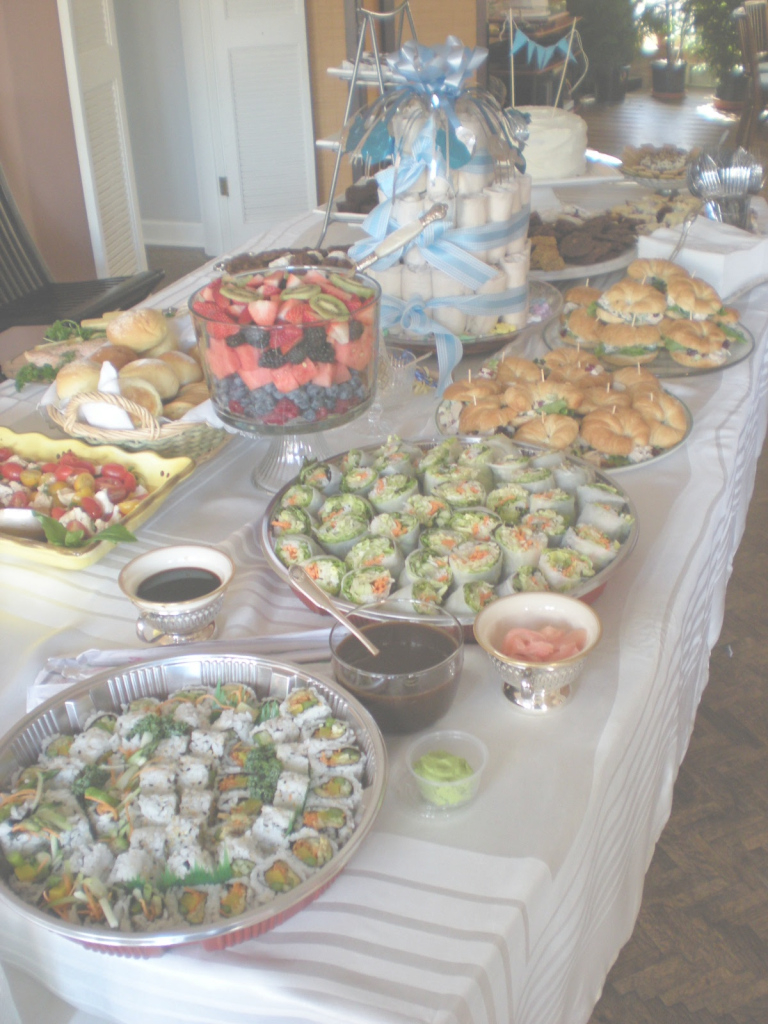 Modern Baby Shower Food Ideas: Baby Shower Food What To Serve with regard to Beautiful Baby Shower Food