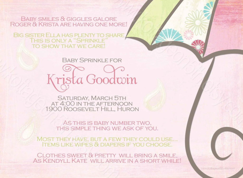 Modern Baby Shower For Second Baby |  Shower Invitation For 2Nd Or 3Rd intended for Baby Shower For 2Nd Baby