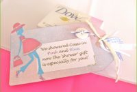 Modern Baby Shower Gift Note Unique Baby Shower Thank You Gifts For Guest pertaining to Luxury Useful Baby Shower Gifts