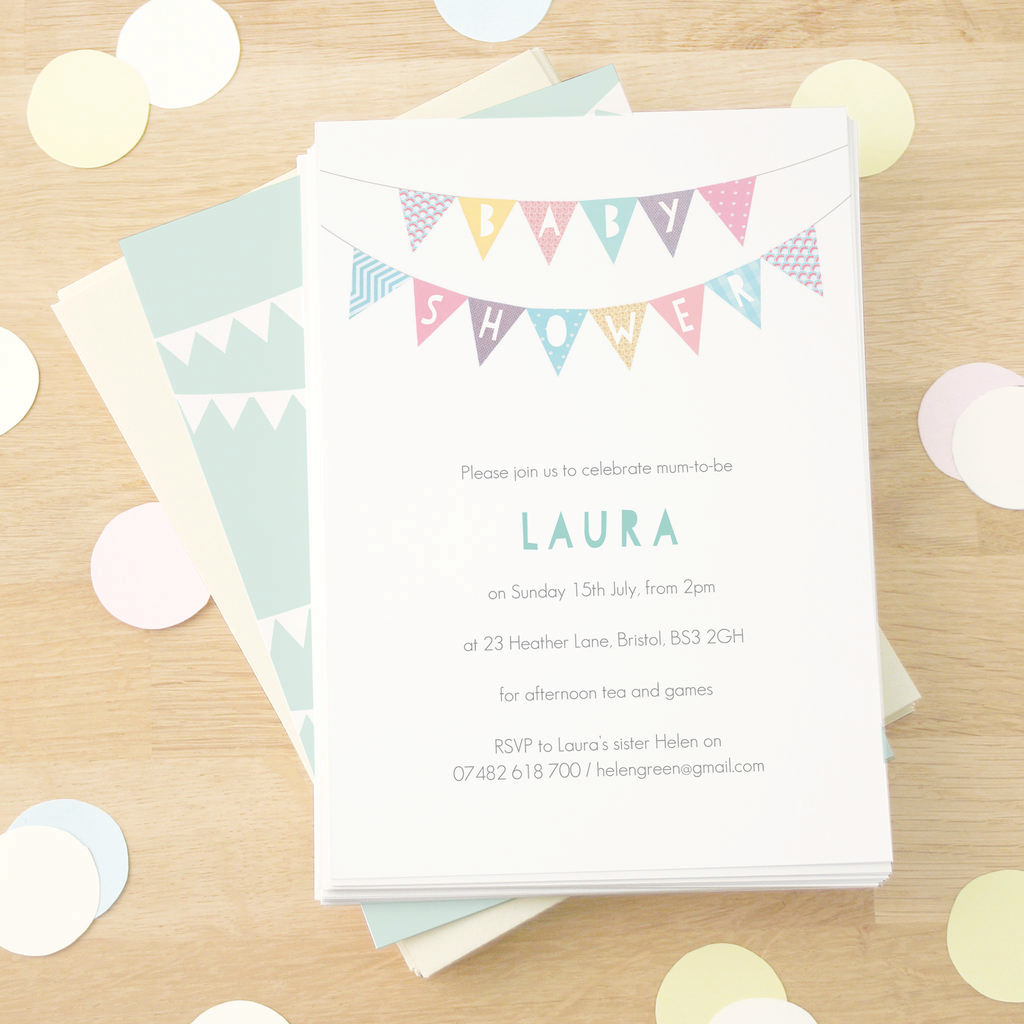 Modern Baby Shower Invitations – Baby Shower Ideas for Baby Shower Invitations